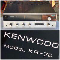 Kenwood KR-70 stereo receiver - $150