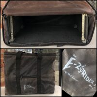 Used four space rack with carrying bag - $30