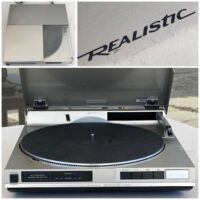 Realistic LAB-2200 linear turntable - $140
