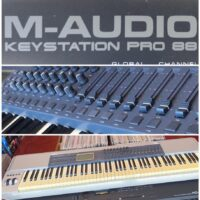 M-Audio Key Station Pro 88 weighted action midi controller - $150