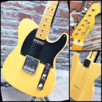 2017 Fender Telecaster Traditional 50's w/ gig MIJ - $895