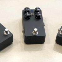 Left to right: Babak Amini Overdrive (OCD based), Babak Amini Multi-Effects (Reverb, Delay, Chorus, Flange, Tremolo, Phaser, Vibrato, Wah), Babak Amini Overdrive w/ mosfet switch (OCD based) - $95 each.