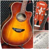 Yamaha APX-4A-SPL w/ gig bag - $350