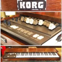 Early 1980's Korg CX-3 organ w/ OHSC - $795