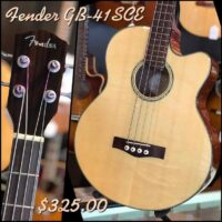 Fender GB-41SCE w/hsc - $325