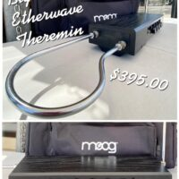 Big Briar (MOOG) Etherwave Theremin w/case and power supply- $395 If interested call 323-505-7777
