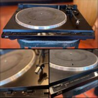 JVC AL-F350 turntable - $145 If interested call 323-505-7777