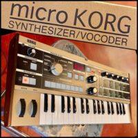 Micro Korg Synthesizer/ Vocoder - $275