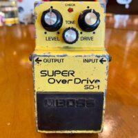 '08 Boss SD-1 Super OverDrive MIT - $40