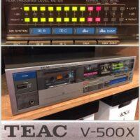 Teac V-500X cassette deck - $125