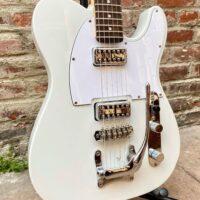 Telecaster style custom built guitar - $450