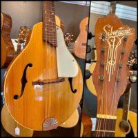 Mid 50's Silvertone (Kay) A-Style mandolin - $295