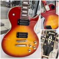 1970's Bradley Les Paul Custom style guitar MIJ - $395