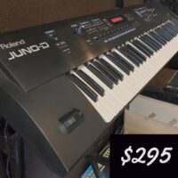 Roland Juno-D synth - $295