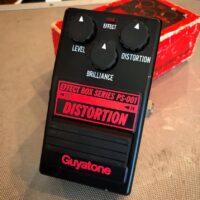Early 1980's Guyatone PS-001 Distortion w/box - $145