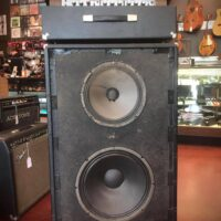Circa 1976 Polytone 215-300 head and cab. Great for bass or guitar - $750