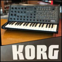 Late 70's Korg MS-20 analog synth - $1,595