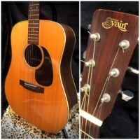 1970's S.Yairi YD-359 solid top dreadnought - $995