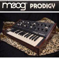 Early 1980's Moog Prodigy MK 2 w/Kenton midi mod - $1,595