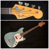 1971 Fender Musicmaster Bass w/gig bag - $1,495