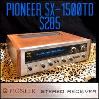 Pioneer SX-1500TD - $285