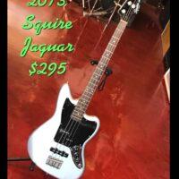 2013 Squire Vintage Modified Jaguar - $295