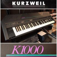 Early 1990's Kurzweil K1000SE (special edition) synth w/manuals & gig bag - $295 The special edition model offered aftertouch.