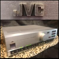 JVC A-X77 stereo integrated amplifier - $275