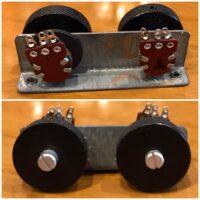 Fender Jaguar rhythm roller knobs/pots/bracket - $35