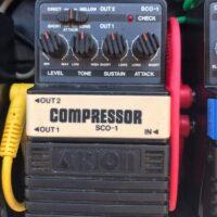 1980s Arion SCO-1 compressor pedal - $95