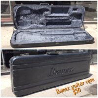 Ibanez guitar case - $50