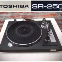1976 Toshiba SR 250 turntable - $245