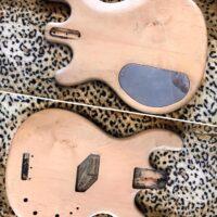Late 1970s-80s Kramer DMZ4000 bass body - $150