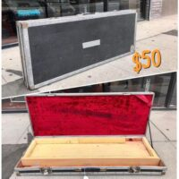 Guitar flight case converted for keyboard. Ready to be converted to whatever you need - $50