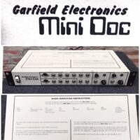 1980s Garfield Mini Doc synchronizer - $295 For computerized musical instruments such as drum machines, sequencers, and arpeggiators that have different clock rates.