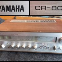 Mid 1970s Yamaha CR-800 stereo receiver- $375