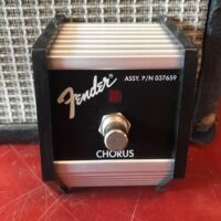 Fender single button footswitch - $15
