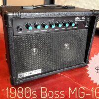 1980s Boss MG-10 - $125