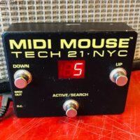 Tech 21 NYC MIDI Mouse - $75