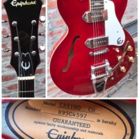 1995 Epiphone Casino (Peerless made) w/ohsc - $950 Bigsby added by original owner.