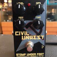 Stomp Under Foot Civil Unrest fuzz pedal w/box - $150