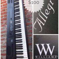 Williams Allegro 88 keys digital piano - $100