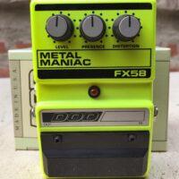 1990s DOD FX58 Metal Maniac distortion w/box - $100