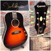 2008 Epiphone EJ-160 E/VC John Lennon signature model - $4955
