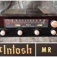 1970-'77 McIntosh MR 77 stereophonic FM tuner - $995