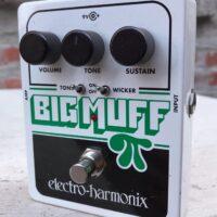 Electro-Harmonix Big Muff Pi w/tone wicker distortion/sustainer - $75
