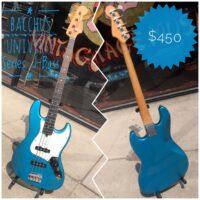 Bacchus Universe Series J-Bass - $450