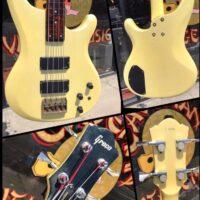 1991 Greco Pegasus PS-650 fretless bass w/gig bag - $450