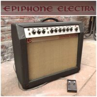 1966 Epiphone EA-26 RVT Electra w/footswitch - $495
