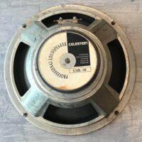 """1980s Celestion G10L-35 10"""" 8 ohm speaker - $50"""